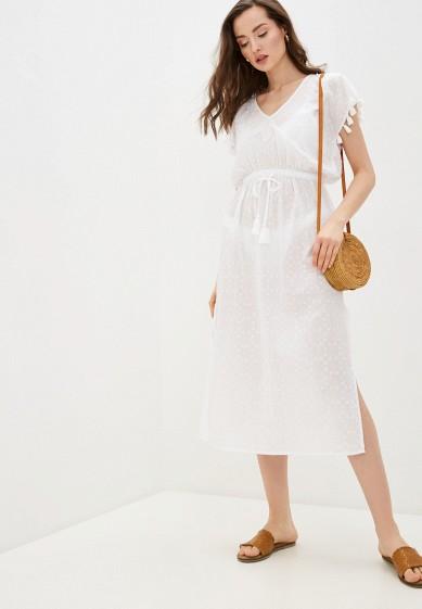 Платье пляжное Seafolly Australia Textured Cotton Maxi Kaftan за 3 339 ₽. в интернет-магазине Lamoda.ru