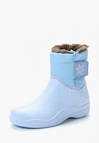Дутики, Speci.All, цвет: голубой. Артикул: SP003AWCKTG7. Обувь
