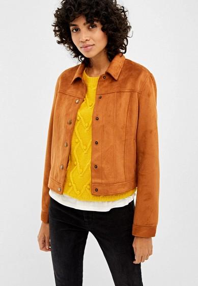 Куртка кожаная Springfield за 2 499 ₽. в интернет-магазине Lamoda.ru