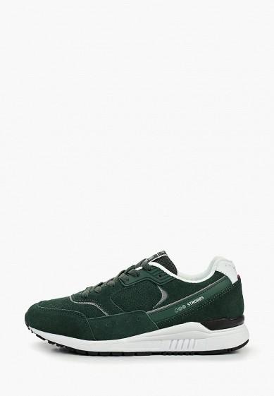 Кроссовки, Strobbs, цвет: зеленый. Артикул: ST979AWEKEN2. Обувь / Кроссовки и кеды / Кроссовки