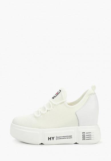 Кроссовки, Strobbs, цвет: белый. Артикул: ST979AWEKES8. Обувь / Кроссовки и кеды / Кроссовки