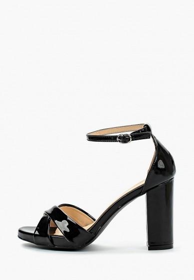 Босоножки, Super Mode, цвет: черный. Артикул: SU013AWBBDL0. Обувь