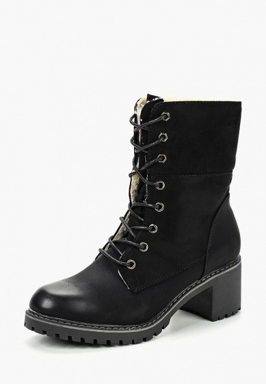 Ботильоны, Super Mode, цвет: черный. Артикул: SU013AWDASJ5. Обувь / Ботильоны