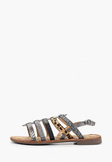 Сандалии, Super Mode, цвет: серый. Артикул: SU013AWFBKL2. Обувь
