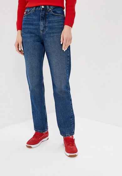 59422233a67 Джинсы Tommy Jeans TJW MOM JEANS W16 B купить за 8 790 руб TO052EWDQPM0 в  интернет-магазине Lamoda.ru