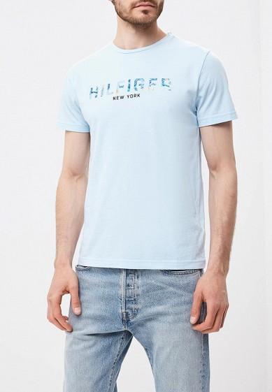 7e4bcfa30626 Футболка Tommy Hilfiger купить за 2 790 руб TO263EMBHPZ8 в интернет-магазине  Lamoda.ru