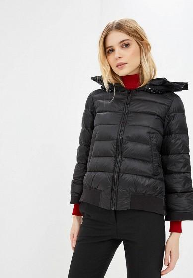 Пуховик, Twinset Milano, цвет: черный. Артикул: TW008EWBWOV3. Premium / Одежда / Верхняя одежда