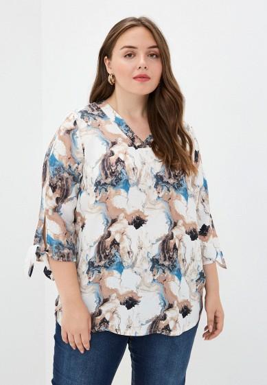 Блуза Ulla Popken за 6 299 ₽. в интернет-магазине Lamoda.ru