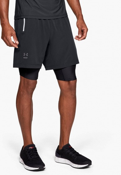 Шорты спортивные Under Armour DOUBLE RUN 2-IN-1 SHORT