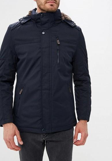 Куртка утепленная, Vanzeer, цвет: синий. Артикул: VA016EMCRHS1. Одежда / Верхняя одежда / Пуховики и зимние куртки