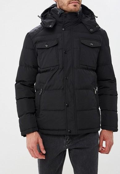 Куртка утепленная, Vanzeer, цвет: черный. Артикул: VA016EMCRHS2. Одежда / Верхняя одежда / Пуховики и зимние куртки