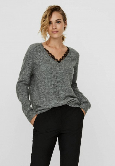 Пуловер Vero Moda за 2 999 ₽. в интернет-магазине Lamoda.ru