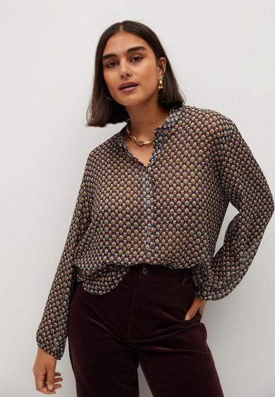 Блуза Violeta by Mango - GEO за 4 249 ₽. в интернет-магазине Lamoda.ru