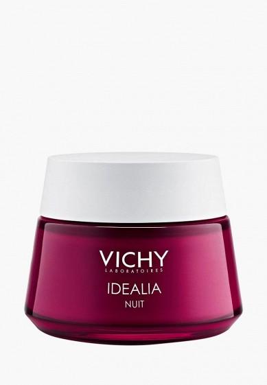 Vichy Бальзам для лица Ночной легкий для восстановления качества кожи Idealia Skin Sleep 50 мл