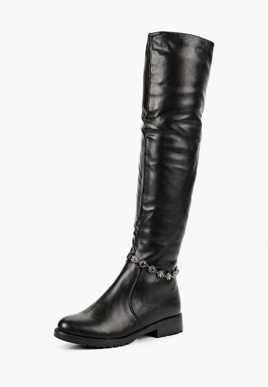 Ботфорты, Vivian Royal, цвет: черный. Артикул: VI809AWCWHS3. Обувь / Сапоги