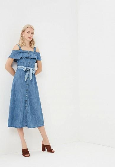 1dd9961afcfdb6c Платье джинсовое Warehouse купить за 14 020 тг WA009EWBPVC8 в ...