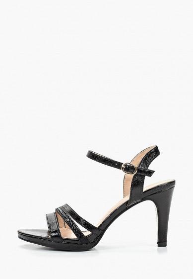 Босоножки, WS Shoes, цвет: черный. Артикул: WS002AWFFFU8. Обувь