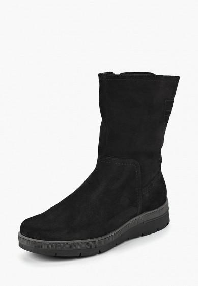 Полусапоги, Юничел, цвет: черный. Артикул: YU003AWCJIJ9. Обувь / Сапоги