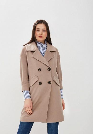 Пальто, Zarina, цвет: бежевый. Артикул: ZA004EWDRZH3. Одежда / Верхняя одежда / Пальто