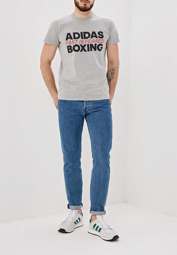 Футболка adidas Combat Boxing Tee Fast Is Feared
