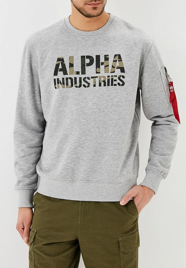 Свитшот Alpha Industries Camo Print Sweat