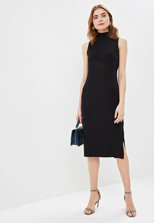 Платье Banana Republic SL KNIT RIB MOCK NECK DRESS