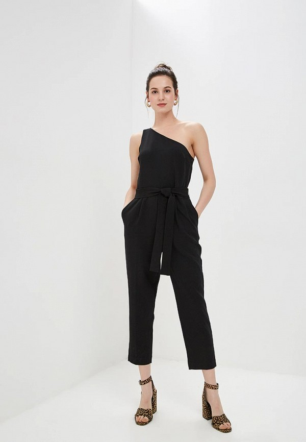 Комбинезон Banana Republic ONE SHOULDER CROPPED JUMPSUIT SOLID