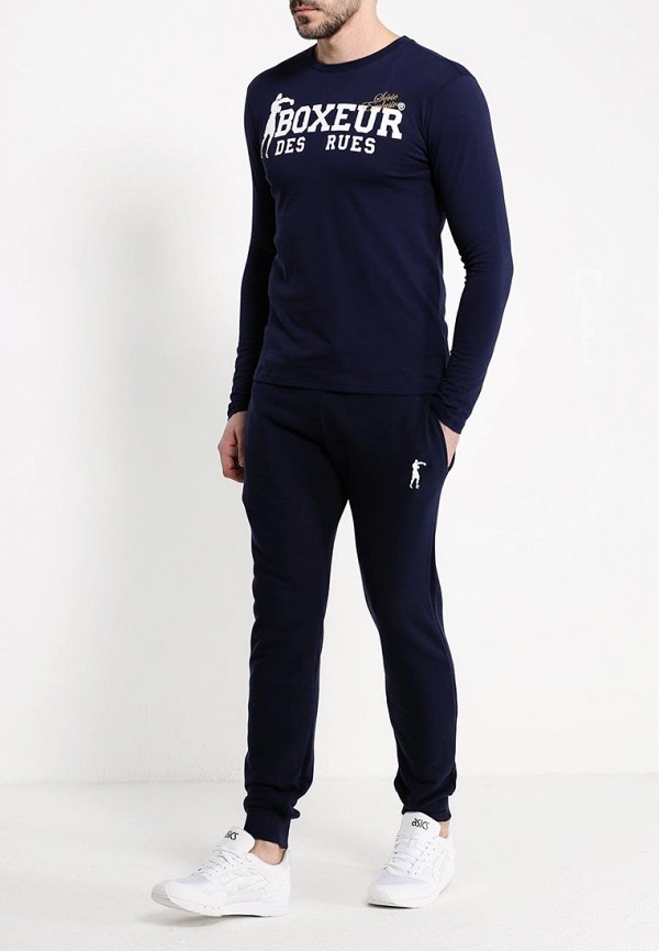 Брюки спортивные Boxeur Des Rues BASIC SWEATPANT WITH SMALL LOGO