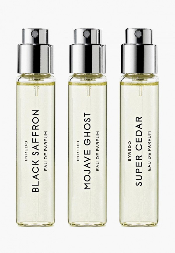Byredo Набор парфюмерный La Sélection Boisée (Mojave Ghost/ Super Cedar/ Black Saffron) 3*12 мл