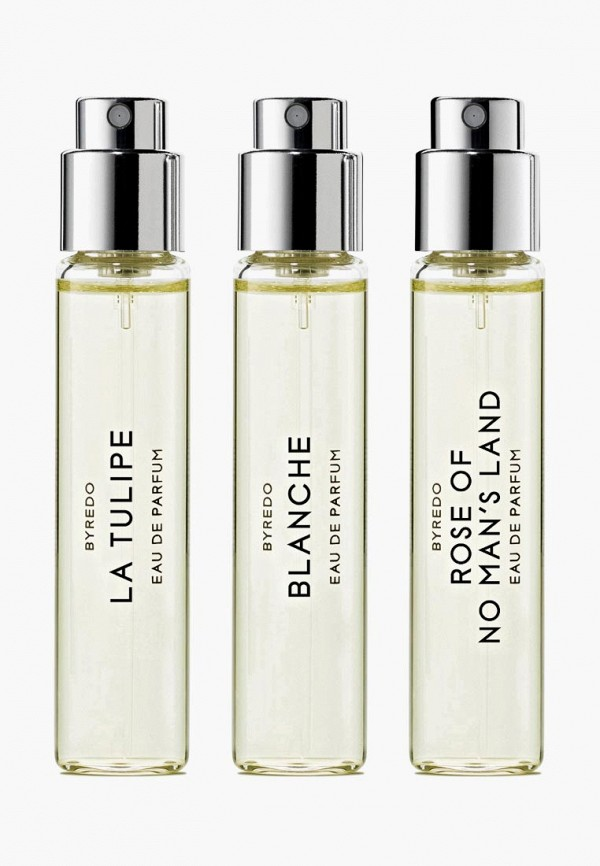 Byredo Набор парфюмерный La Sélection Florale (Blanche/ La Tulipe/ Rose Of No Mans Land) 3*12 мл