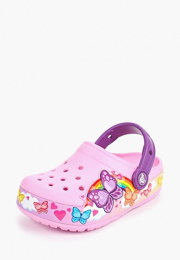 Сабо Crocs CFL ButterflyBand Lights Clg K