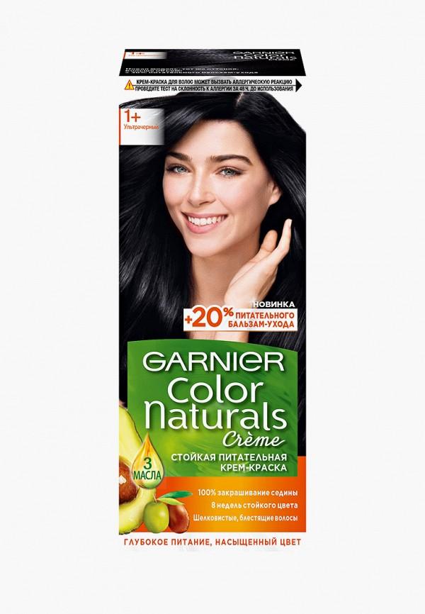 """Garnier Краска для волос """"Color Naturals"""", оттенок 1+, Ультра черный, 110 мл"""