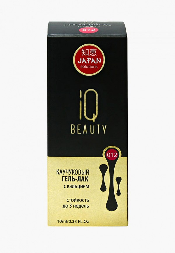 Гель-лак для ногтей IQ Beauty с кальцием, 10 мл, тон  № 012