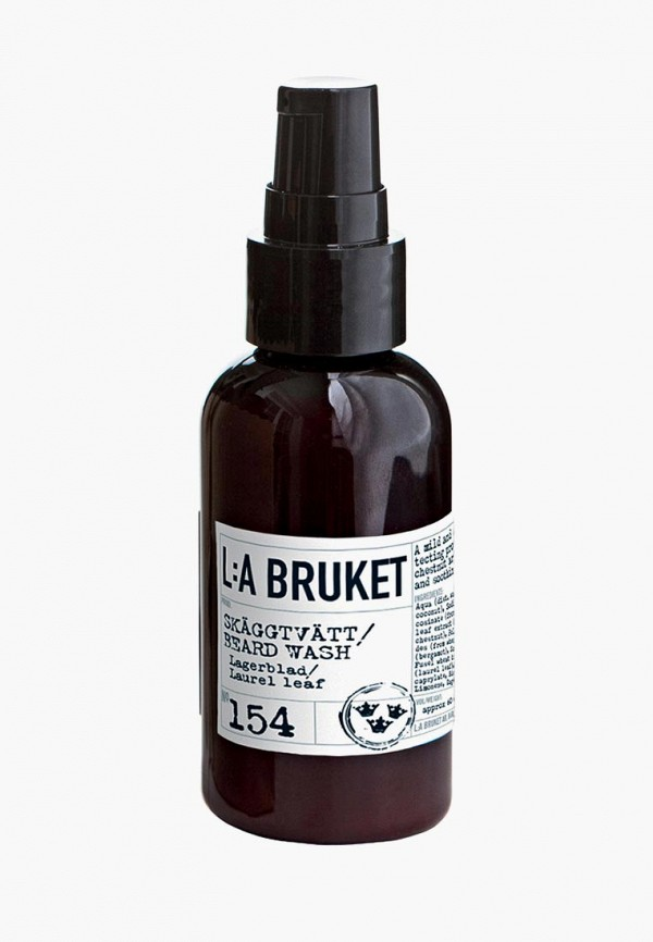 Шампунь La Bruket для бороды 154 LAGERBLAD/LAUREL LEAF 60 мл