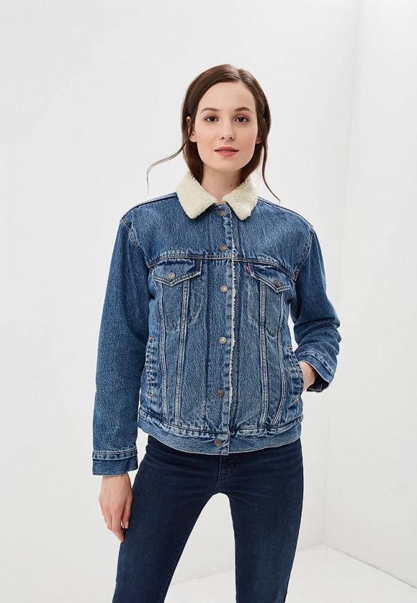 Levi's® Куртка джинсовая Ex-Bf Sherpa Trucker