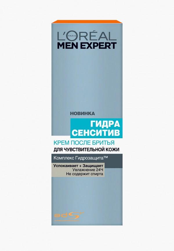 """L'Oreal Paris Крем после бритья Men Expert """"Гидра Сенситив"""" для чувствительной кожи, 75 мл"""