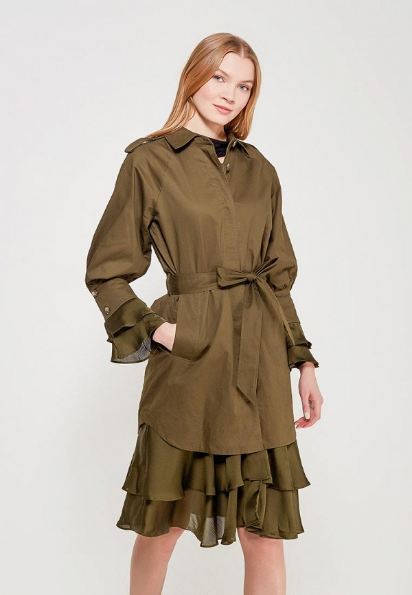 Плащ LOST INK SATIN DETAIL TRENCH