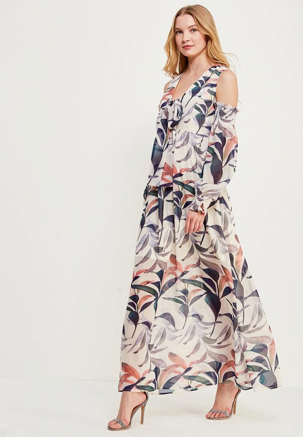 Платье Lost Ink FLORAL PRINT MAXI DRESS