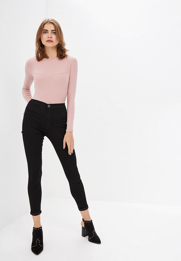 Брюки LOST INK HIGH WAIST JEGGING IN BLACK