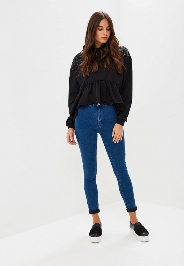 Джинсы LOST INK HIGH WAIST JEGGING MID DENIM