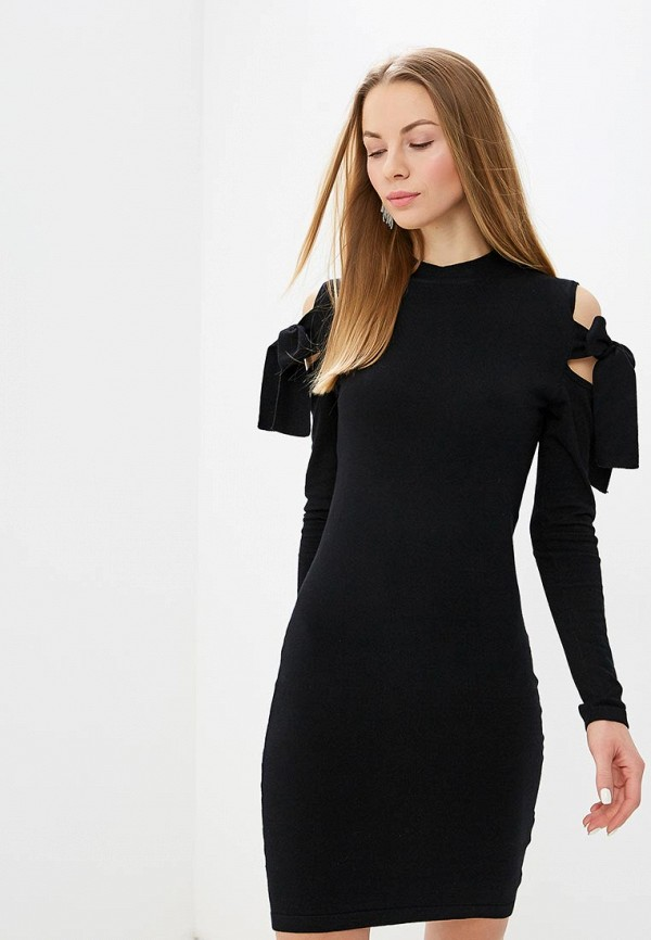Платье LOST INK TIE CUT OUT DETAIL KNITTED BODYCON DRESS