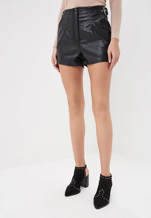 Шорты Lost Ink SHORT IN PU WITH BUCKLE SIDE DETAIL