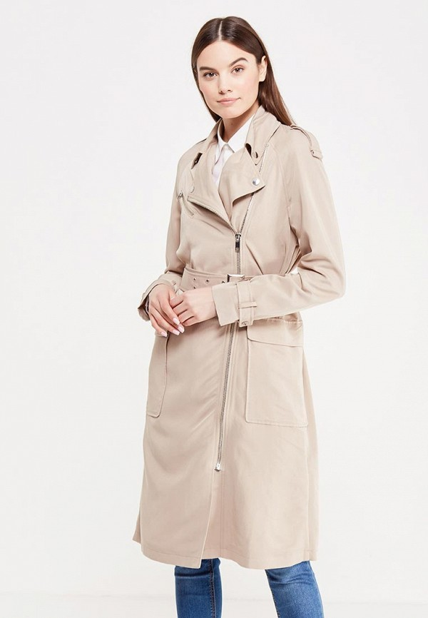 9a62f68781e6 LOST INK Плащ BIKER TRENCH