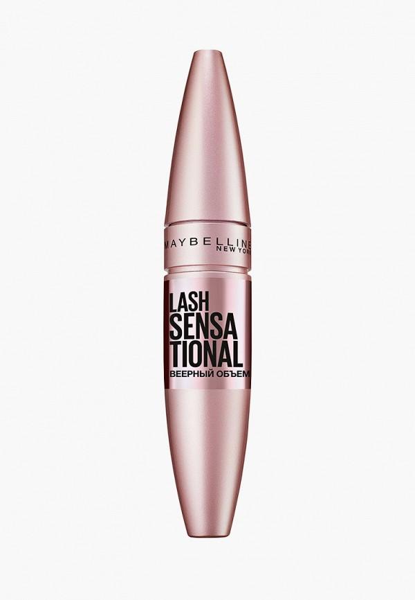 Maybelline New York Тушь для ресниц Lash Sensational, веерный объем, черная, 9,5 мл
