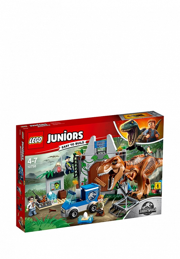 Конструктор Jurassic World LEGO Побег Ти-Рекса 10758
