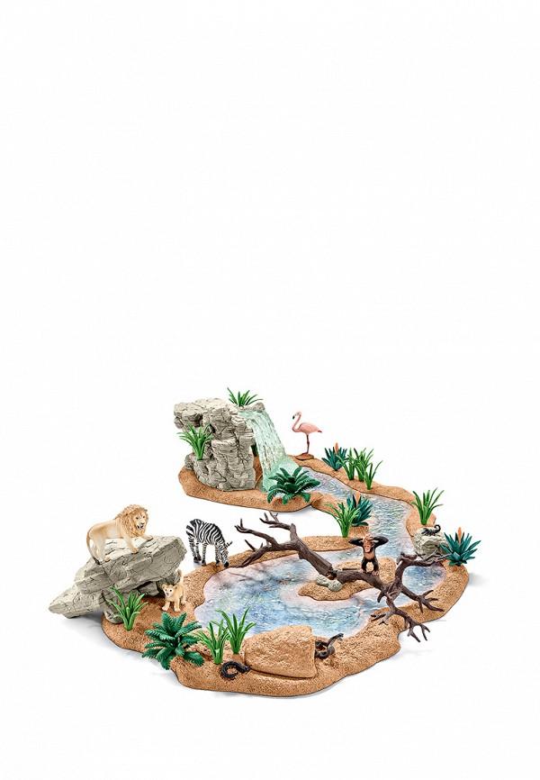 Schleich Набор игровой Заводь с животными