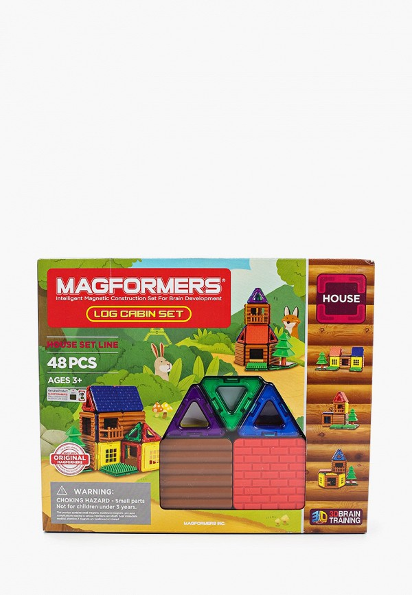 Конструктор Magformers 705006 Log cabin set