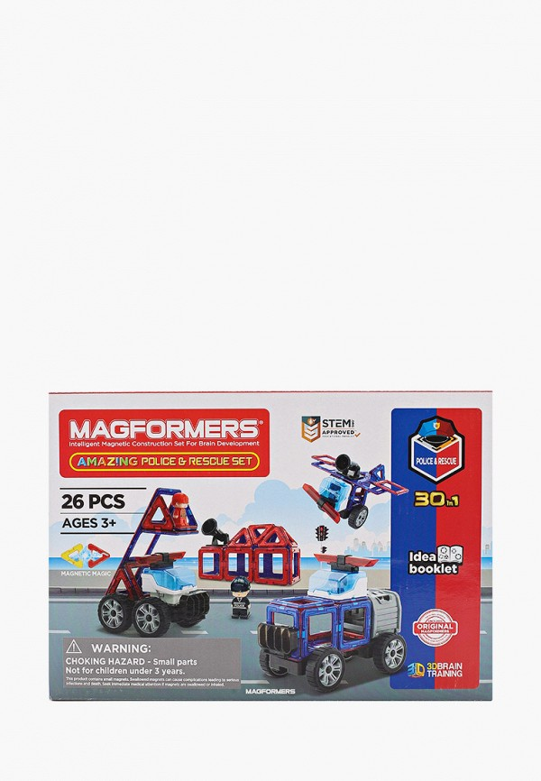 Конструктор Magformers Amazing Police & Rescue Set