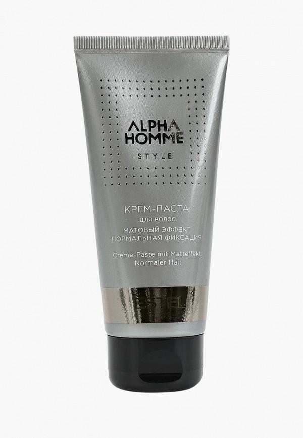 Estel Крем для волос ALPHA HOMME STYLE нормальной фиксации ESTEL PROFESSIONAL матовый эффект 100 мл