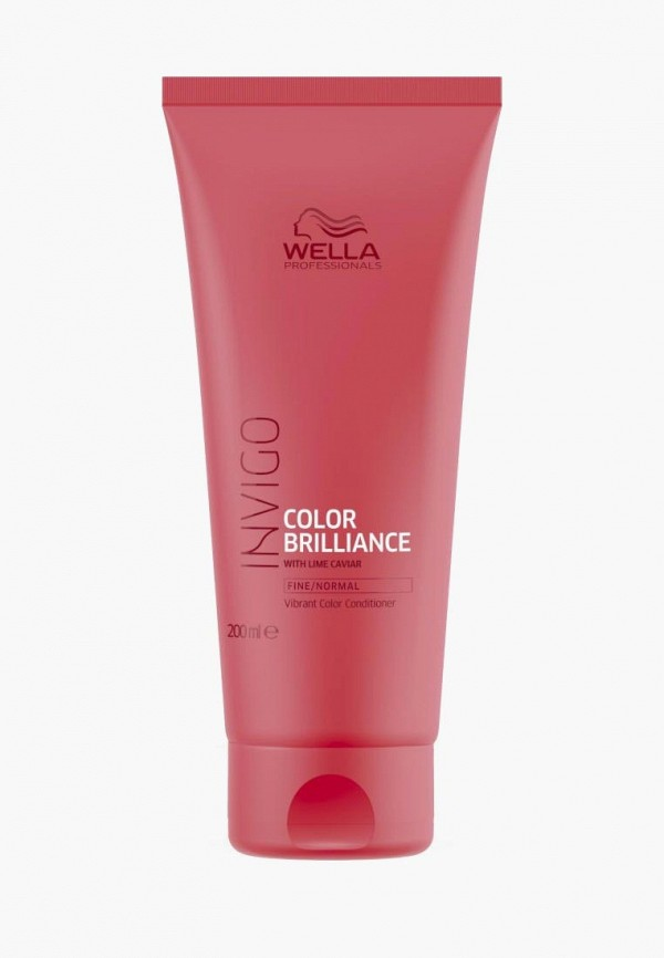 Бальзам для волос Wella Professionals Invigo Color Brilliance Vibrant Color Conditioner Fine And Normal Hair, 200 мл